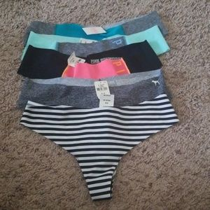 *SOLD* NWT! 5 Victoria's Secret Pink Line Thungs